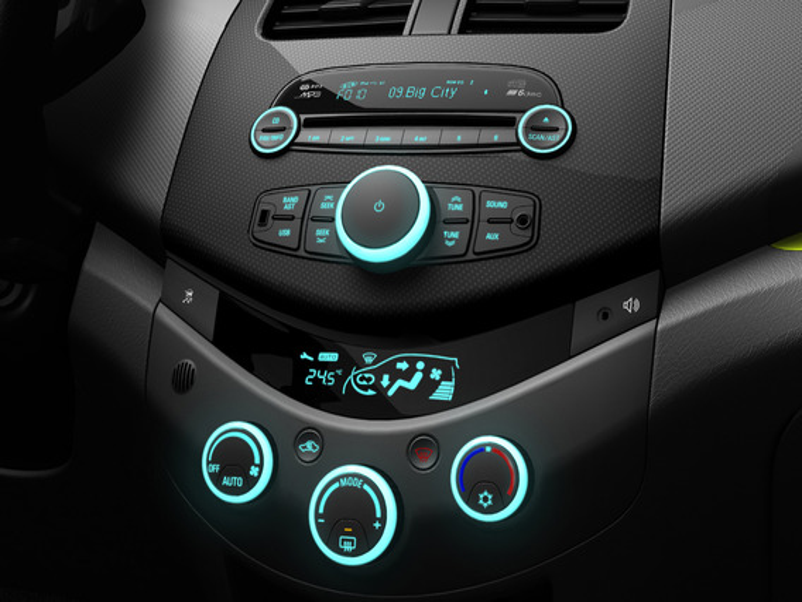 Модернизация печки на Chevrolet Spark