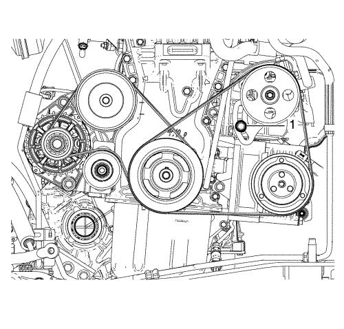 Замена ремня ГРМ на Chevrolet Spark фото
