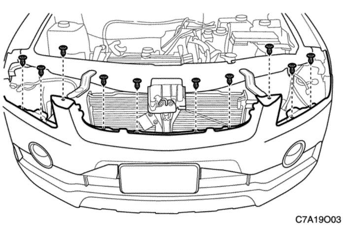 Снятие заднего бампера и замена датчиков парковки на Chevrolet Captiva