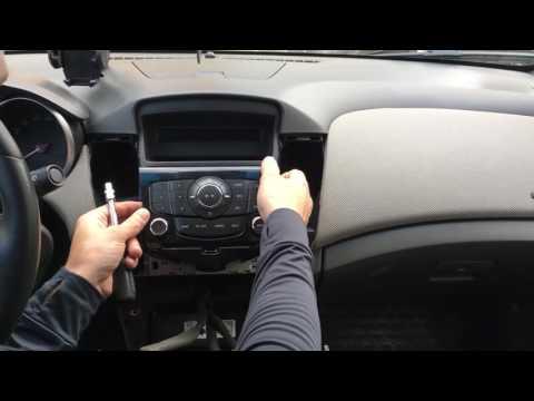 Как снять магнитолу на Chevrolet Captiva