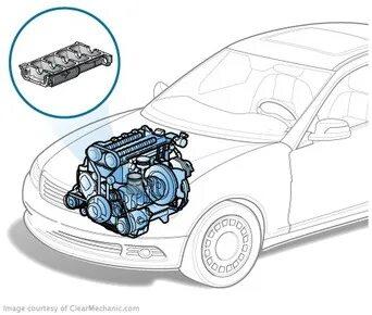 Почему в картер двигателя KIA Spectra  попадает жидкость из системы охлаждения