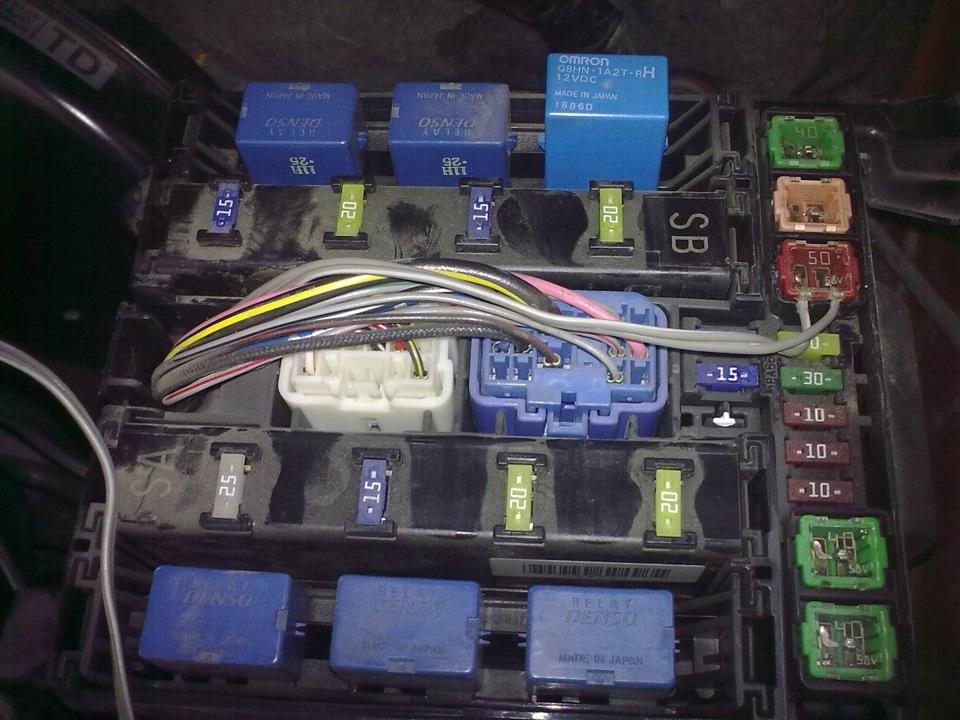 Отключение ESP на Suzuki Grand Vitara II
