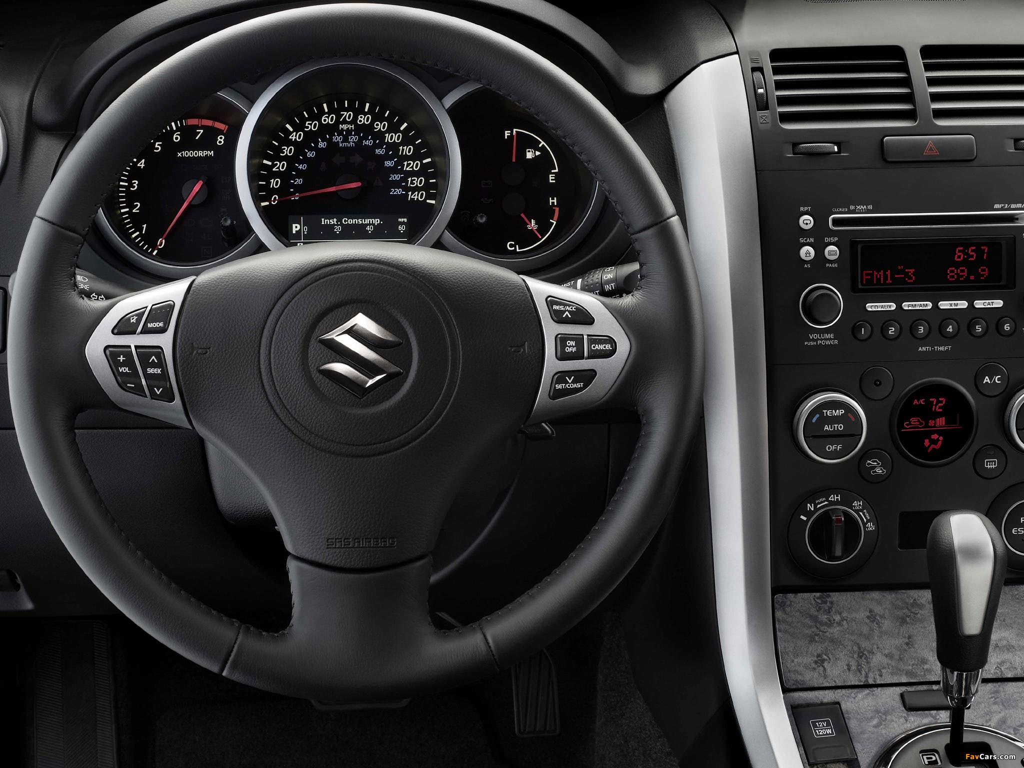 Как поменять км/л на л/км в бортовом компьютере на Suzuki Grand Vitara II