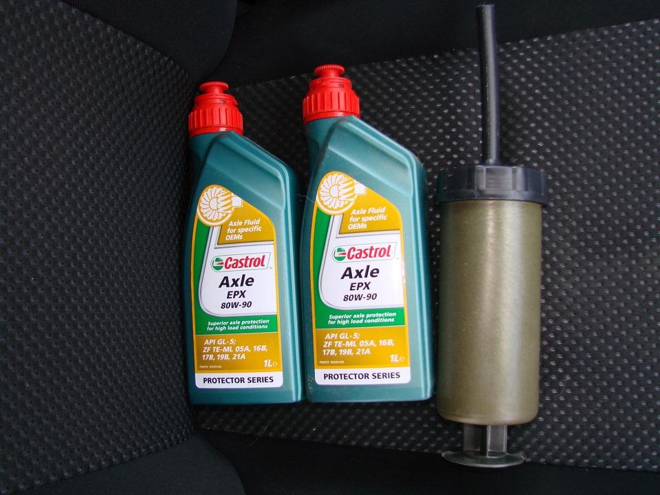 Масло в мост и раздаточную коробку на Suzuki Grand Vitara II