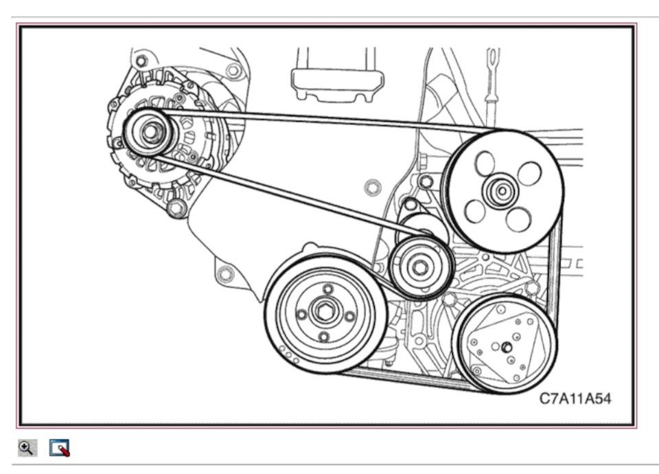 Замена ремня вспомогательных агрегатов на дизельном Chevrolet Captiva