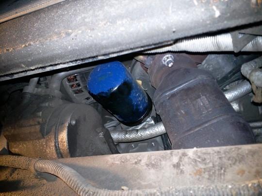 Замена масляного фильтра и радиатора на дизельном Chevrolet Captiva