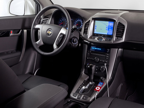 Установка 2DIN магнитолы на Chevrolet Captiva
