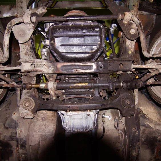 Устранение стука рулевой рейки на Opel Vectra С фото