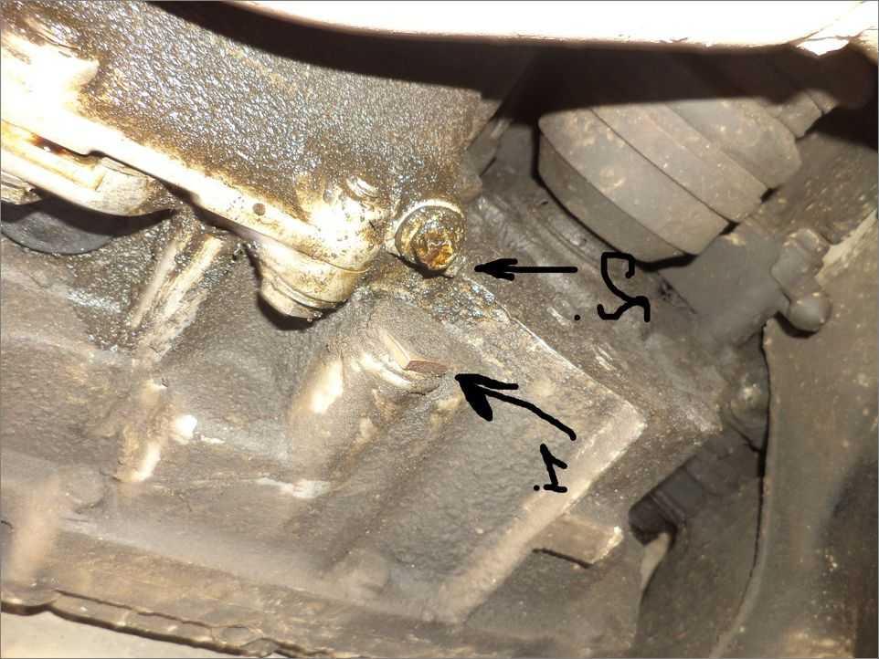 Замена моторного масла на дизельном Opel Vectra В