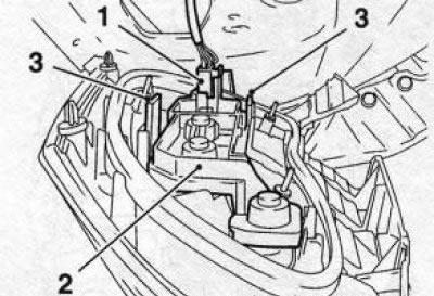 Снятие бамперов на Opel Vectra В