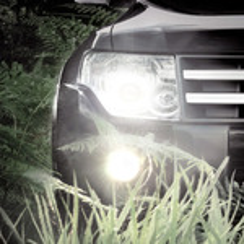 Замена лампы противотуманной фары на Mitsubishi Pajero 4 фото
