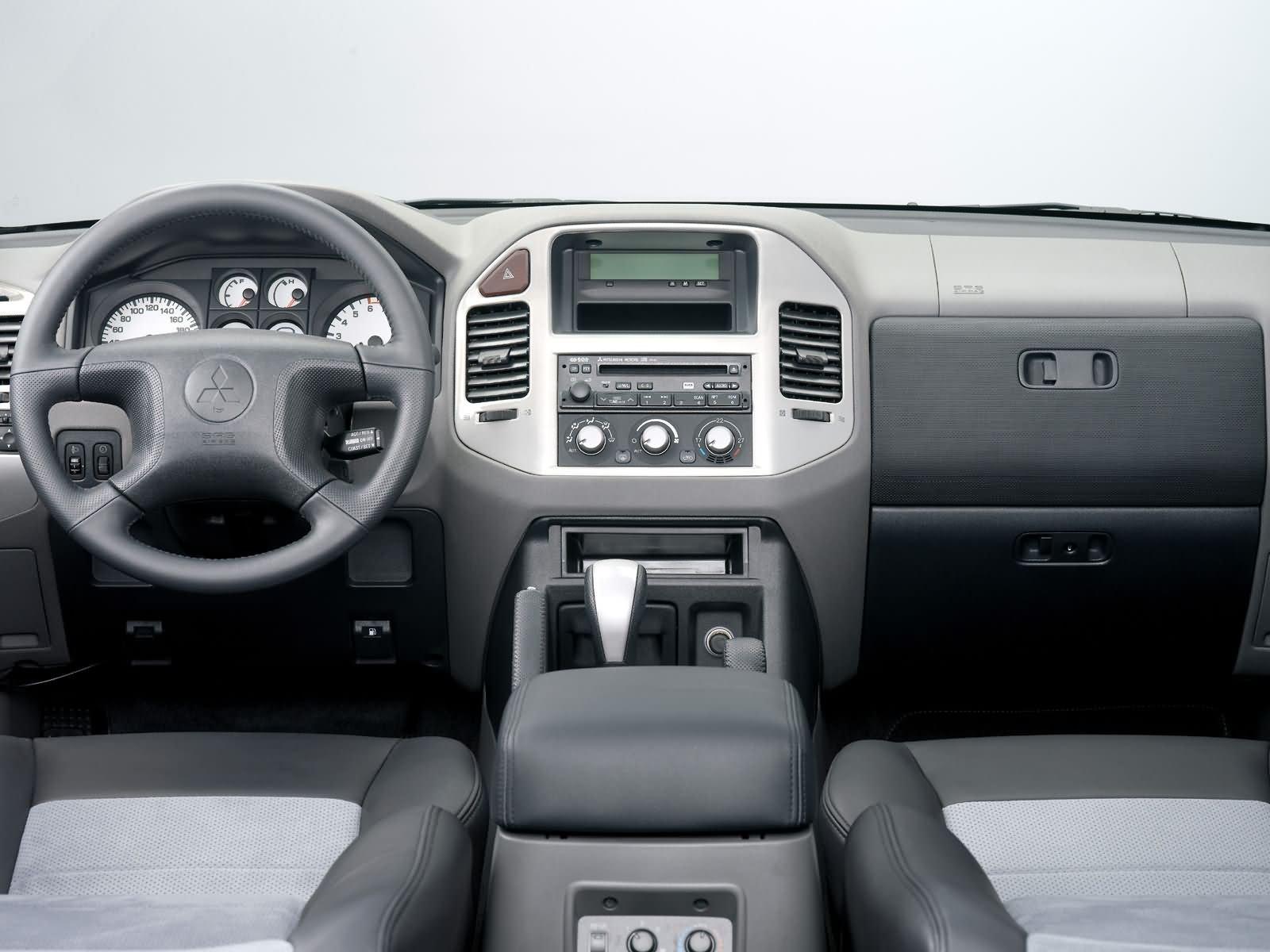 Коды неисправностей Mitsubishi Pajero 3 с АКПП