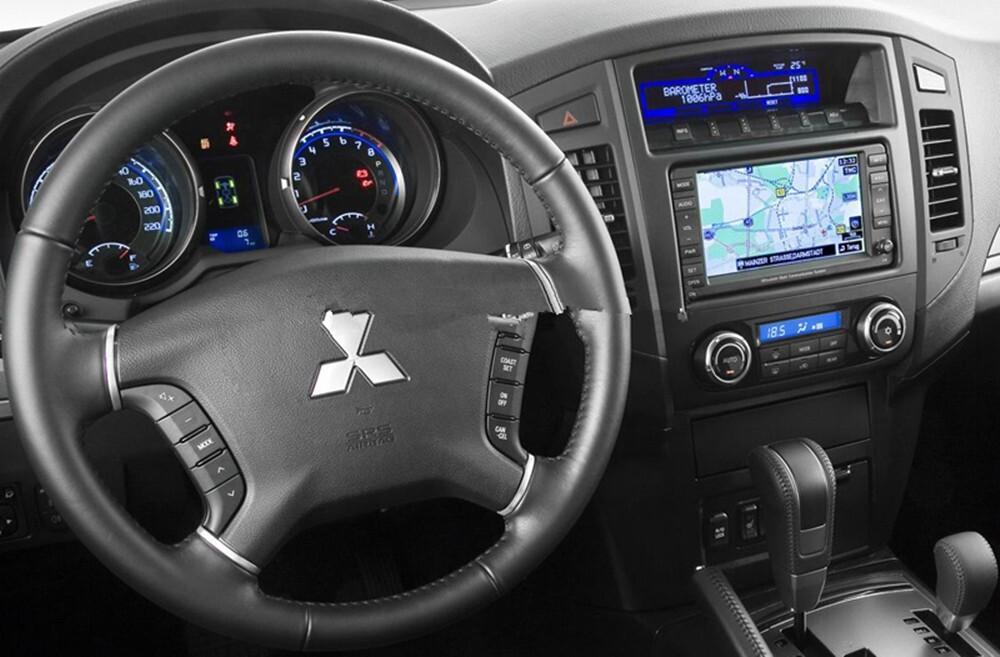 Обнуление системы напоминания о техобслуживании на Mitsubishi Pajero 4