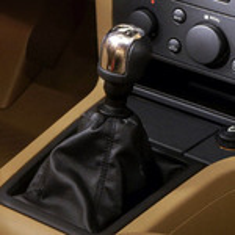 Регулировка привода переключения передач на Opel Vectra С фото