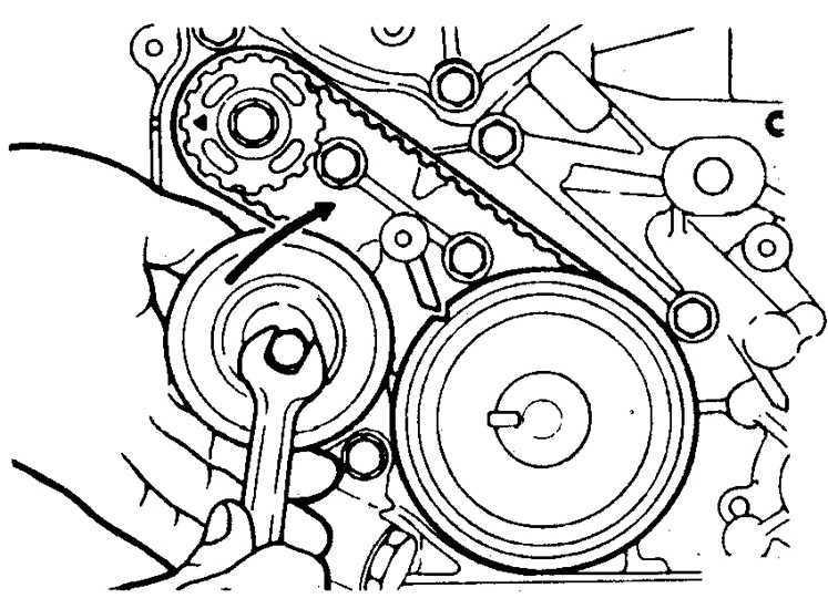 Необходимые детали для замены ремня ГРМ на Mitsubishi Pajero 3