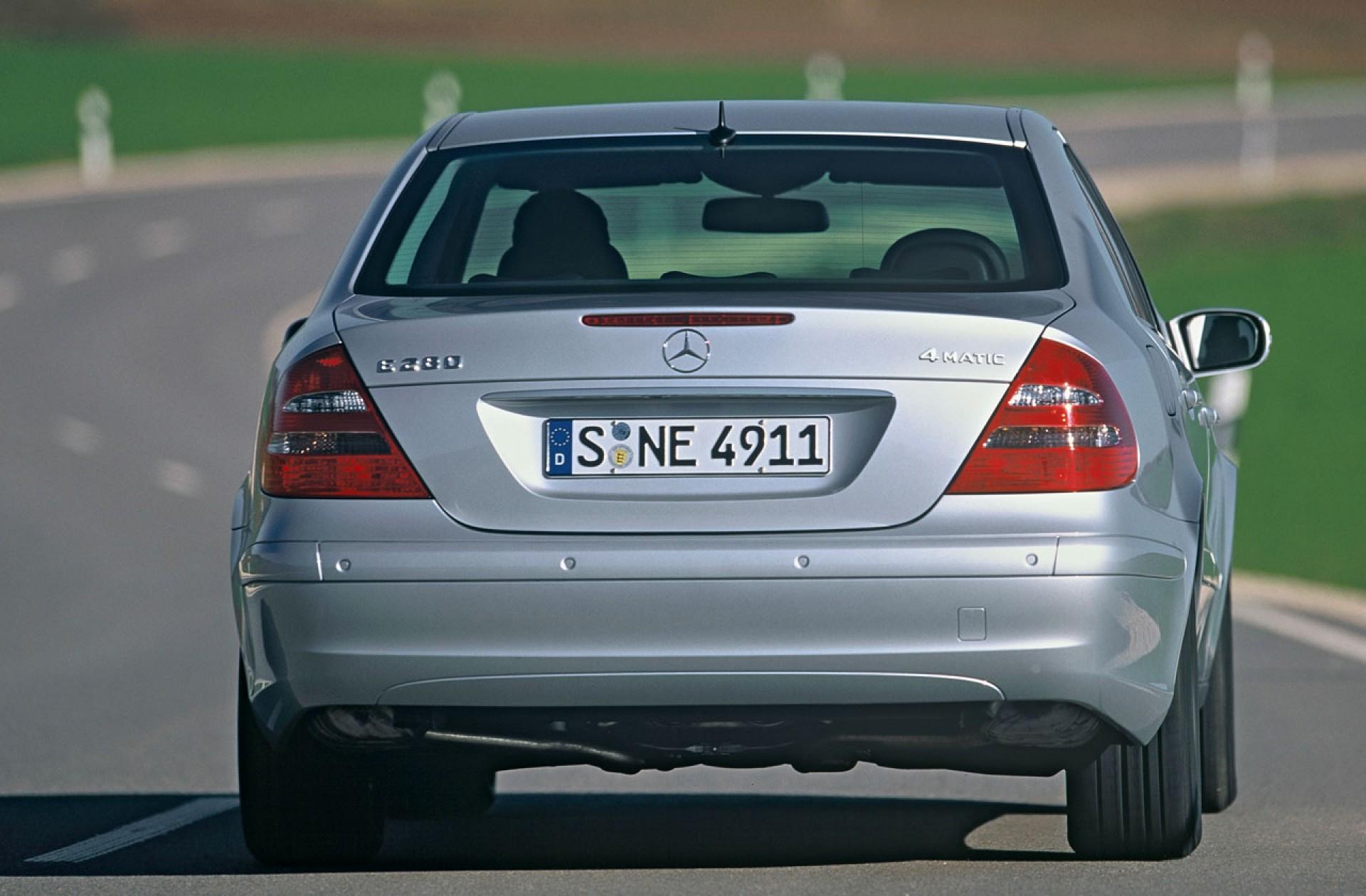 Не работает система «Дистроник» (Distronic) в Mercedes E-Class (W211)