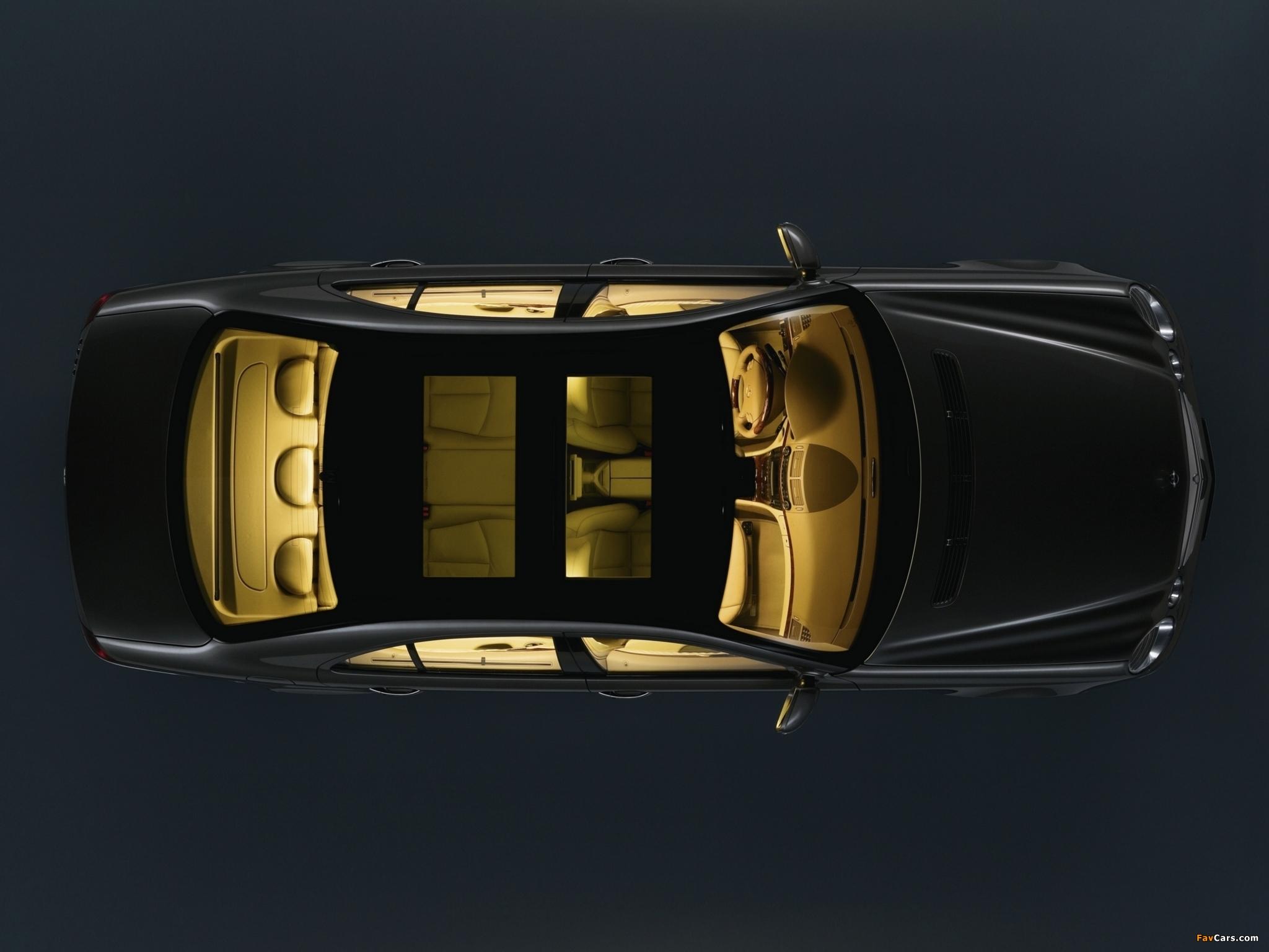 Какие функции в Mercedes E-Class (W211) выполняет панель управления под потолком