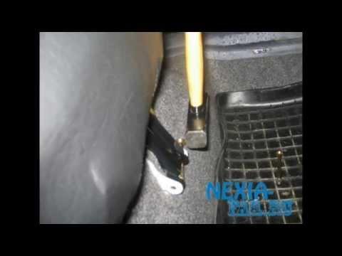 Как снять спинку заднего сиденья Daewoo Nexia