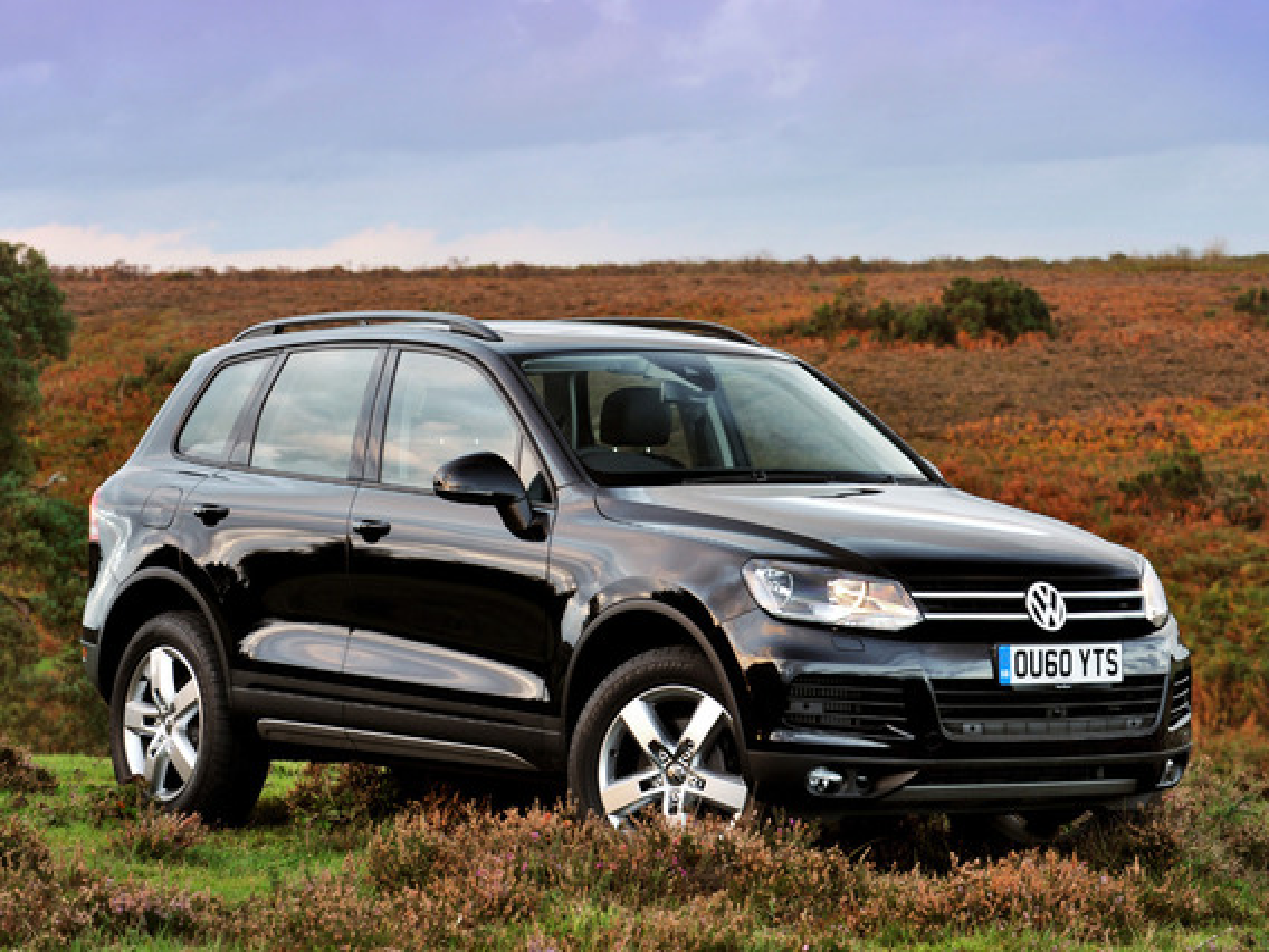 Показатели проходимости Volkswagen Touareg II (NF)