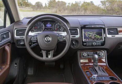 Функции кнопки 0.0 на приборной панели Volkswagen Touareg II (NF)