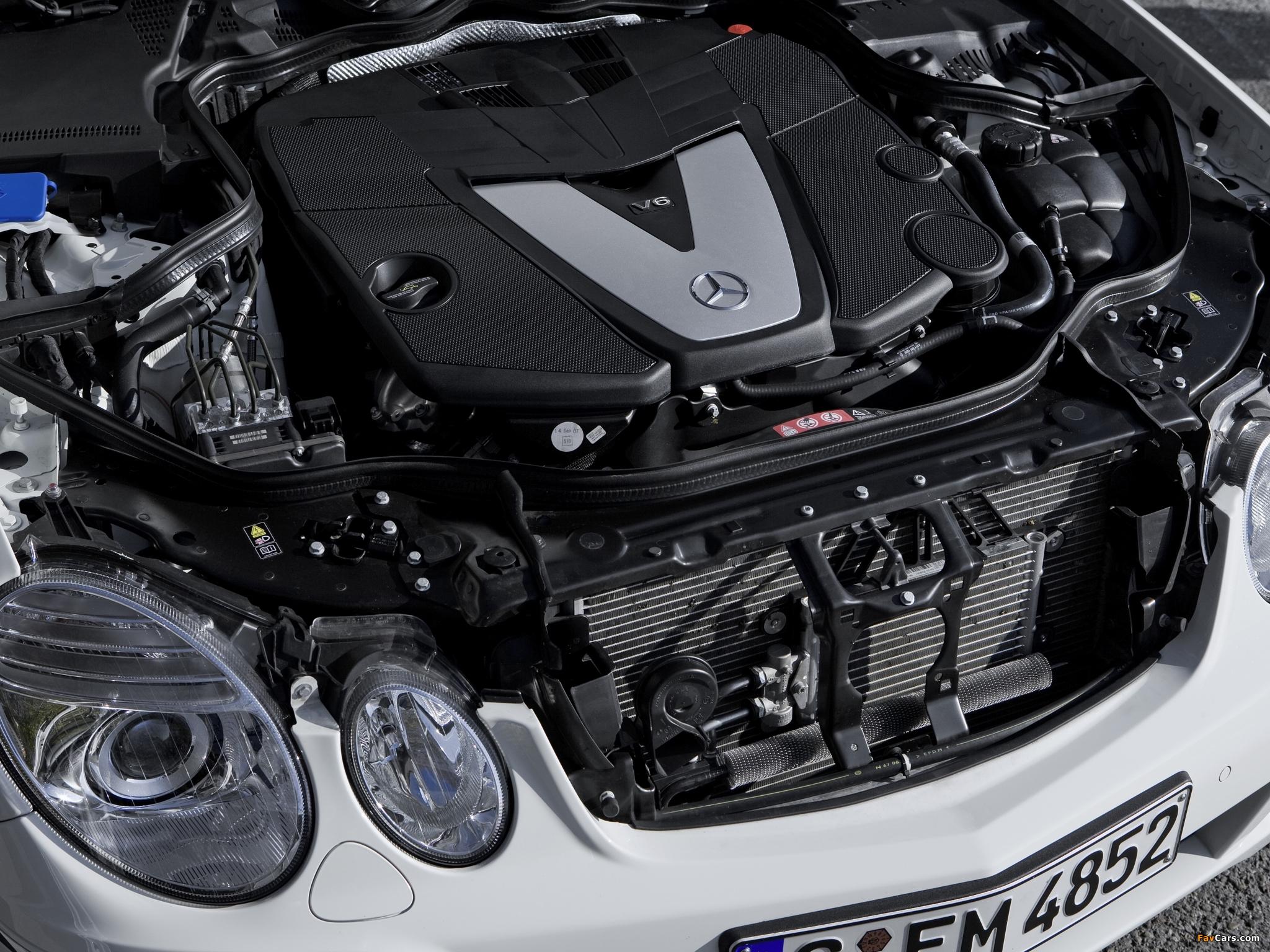 Какими бензиновыми двигателями оснащается Mercedes E-Class (W211)