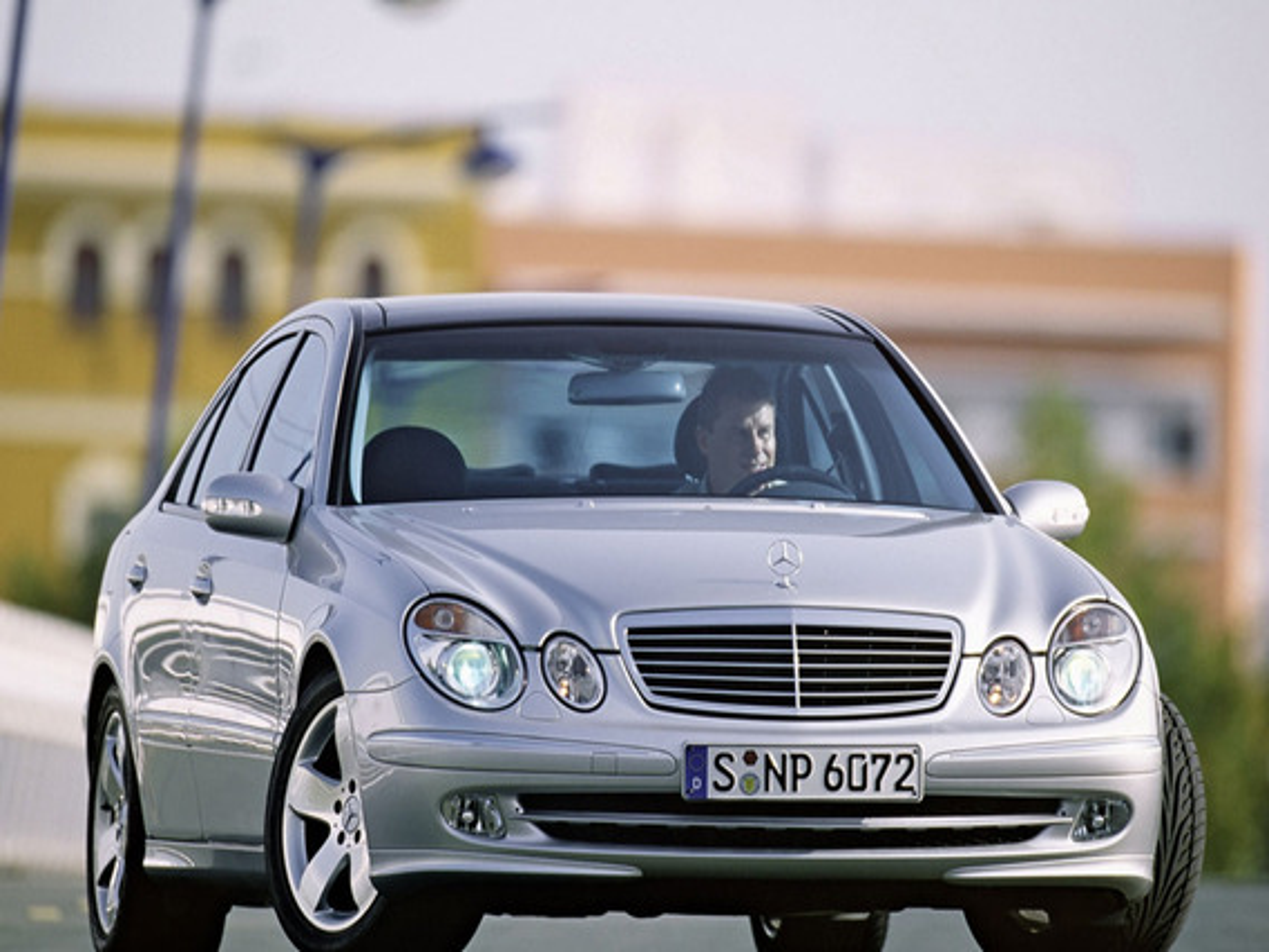 Как работает режим использования остаточного тепла двигателя в автомобиле Mercedes E-Class (W211)