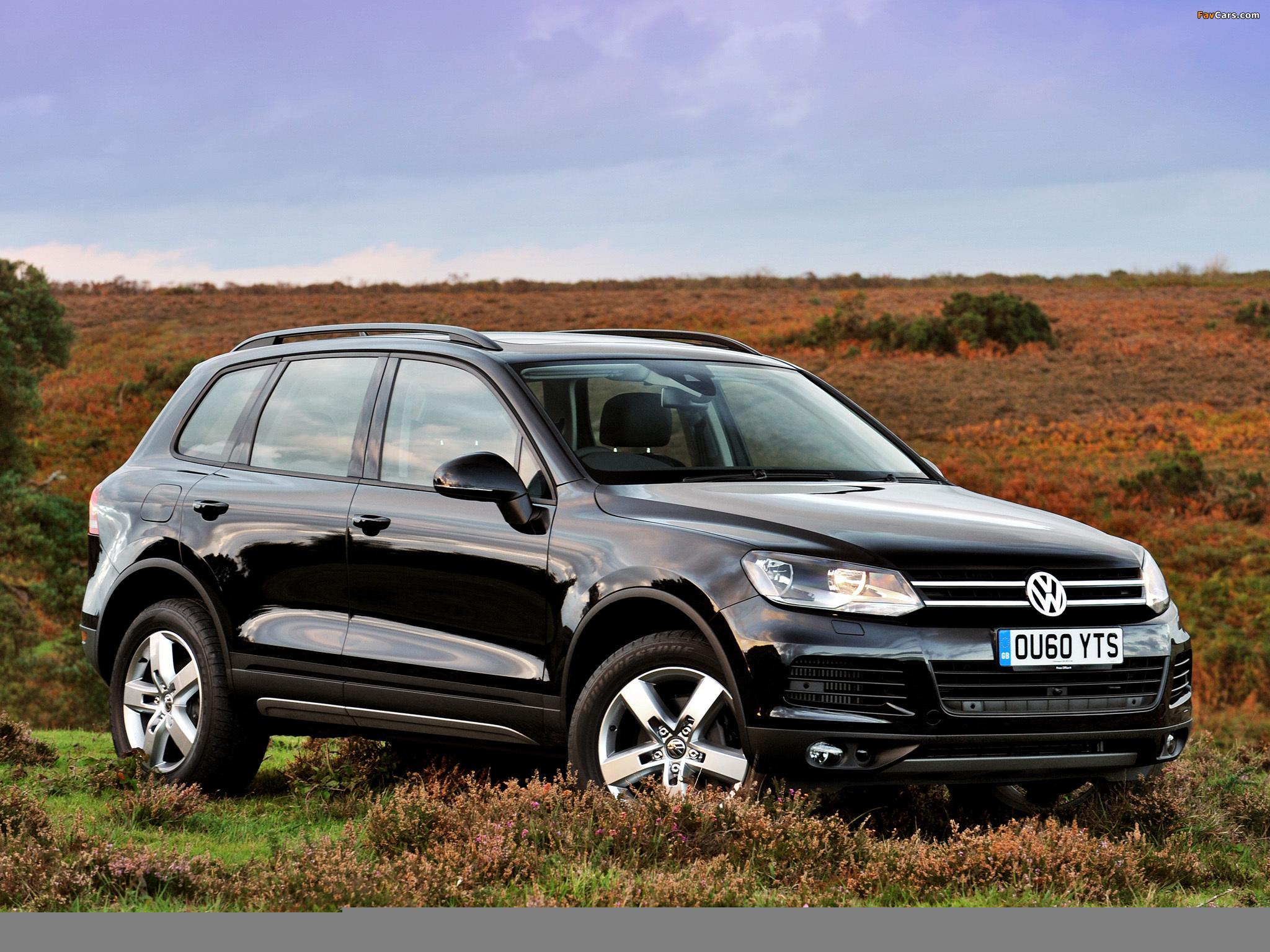 Особенности оснащения Volkswagen Touareg II (NF)
