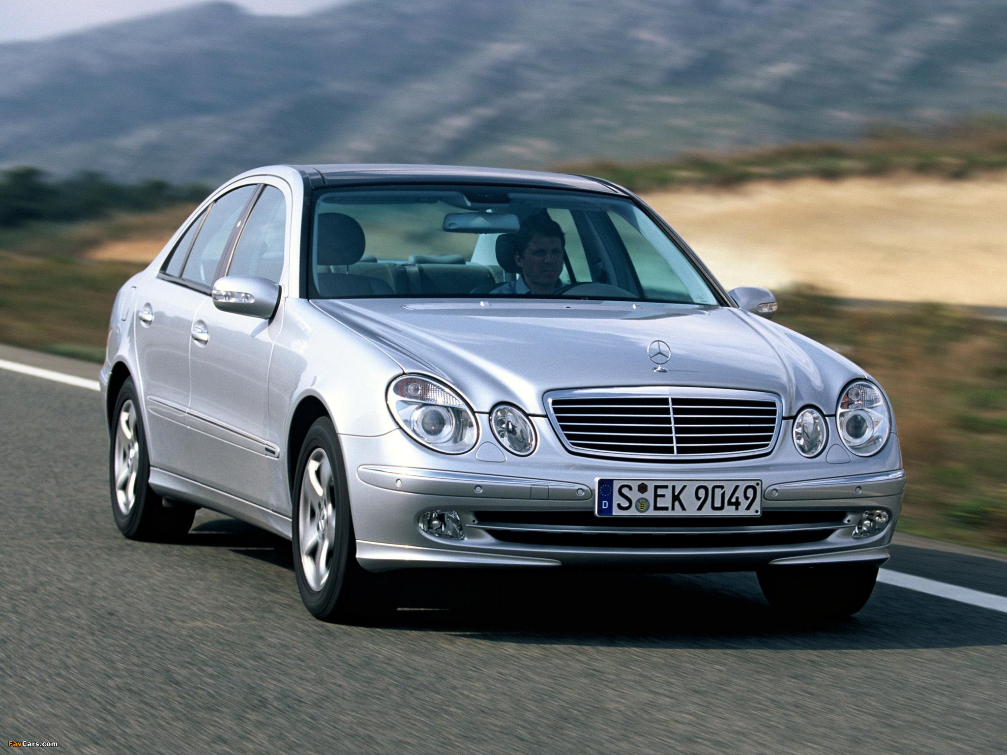 Могут ли в Mercedes E-Class (W211) просесть пружины