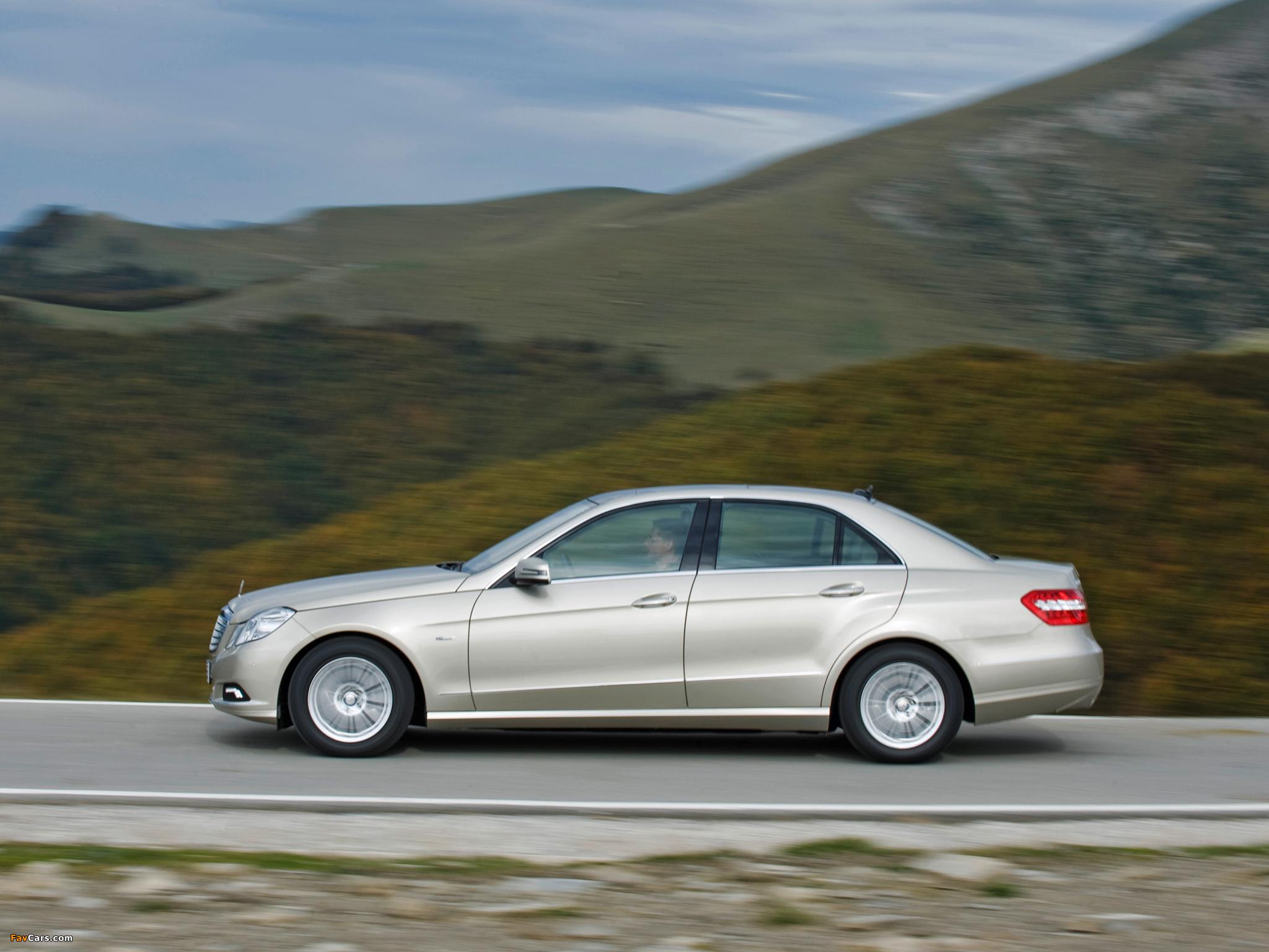 Можно ли поставить на Mercedes E-Class (W212) зимний комплект колес одинаковой ширины