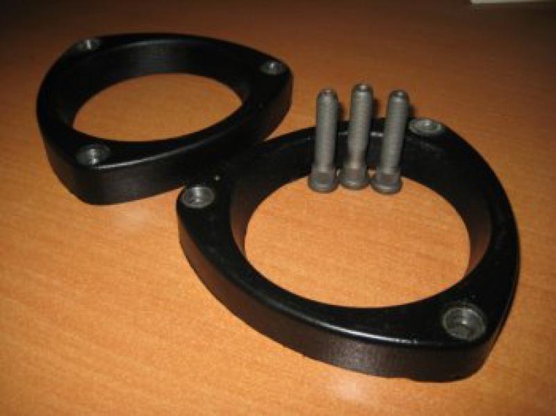 Увеличение клиренса оригинальными проставками под пружины подвески Volkswagen Golf  IV
