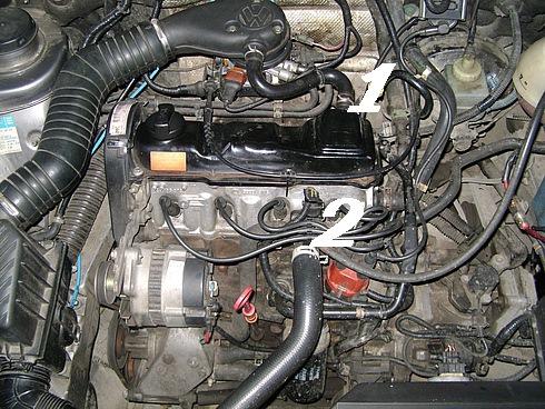Особенности замены масляного фильтра на Volkswagen Golf IV с дизельным двигателем