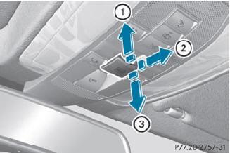Как открыть и закрыть одной кнопкой все окна и люк Mercedes E-Class (W212)