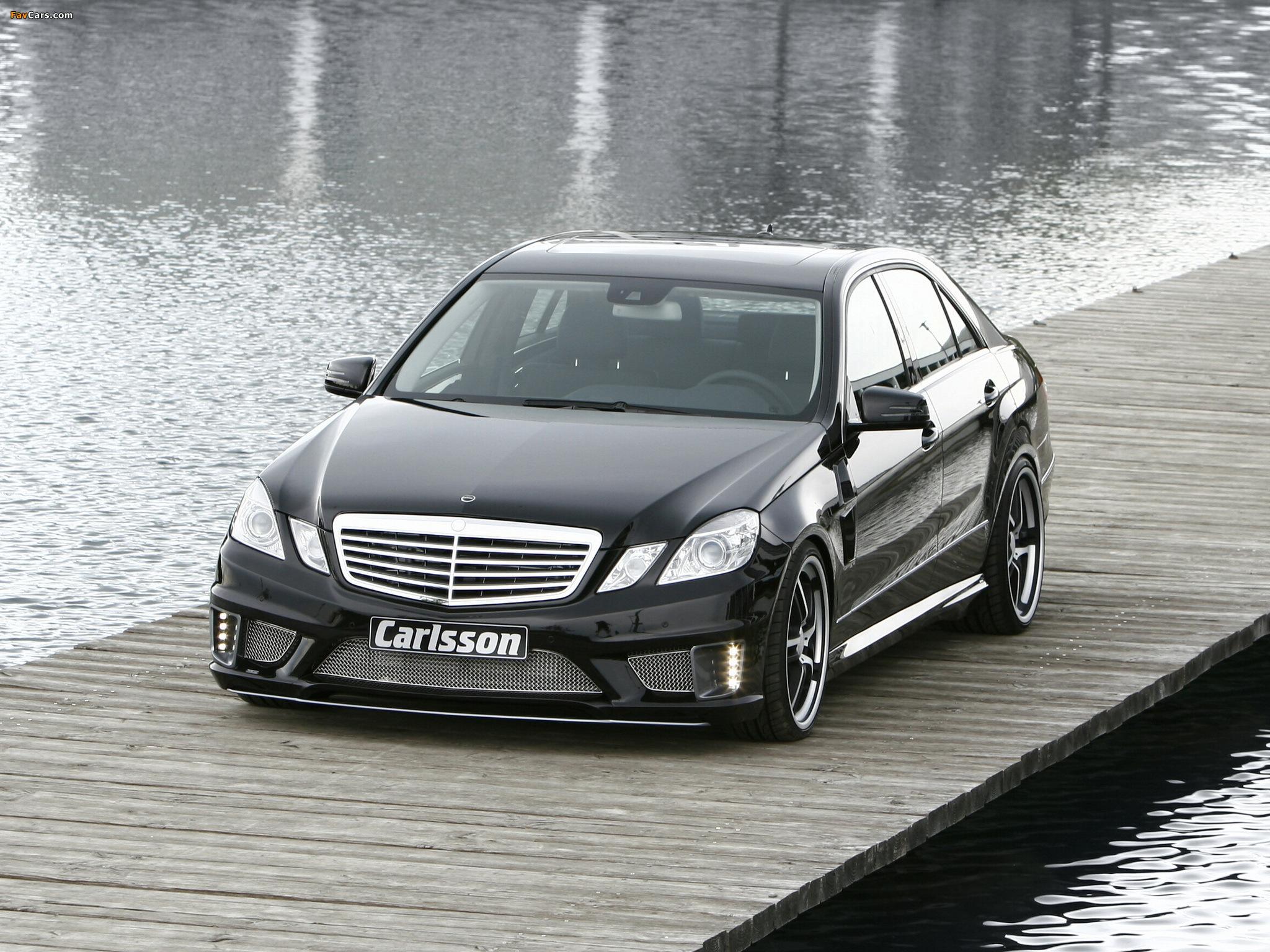 Можно ли поставить на обычный Mercedes E-Class (W212) передний бампер от E63 AMG