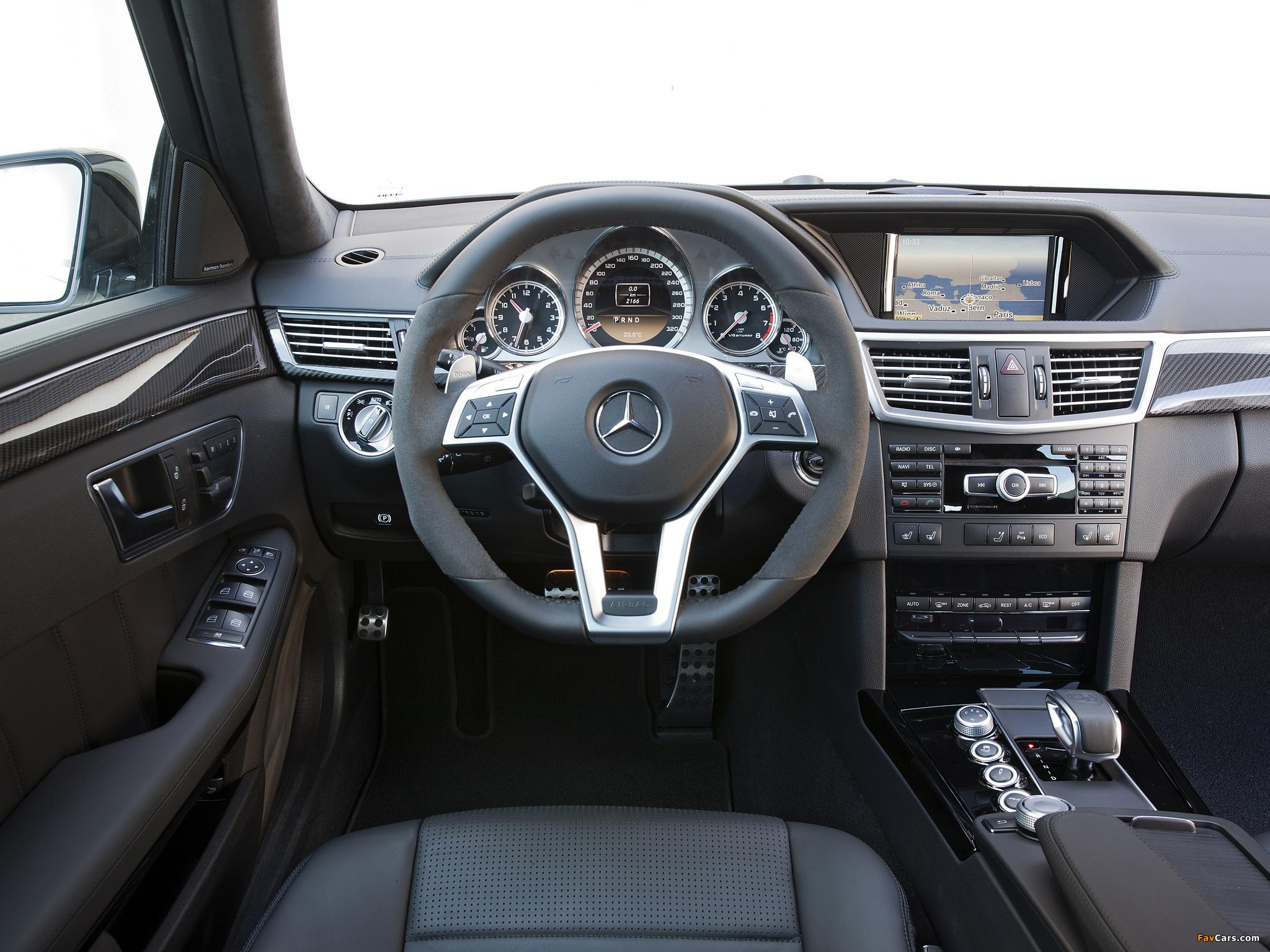 Заправочный объем и код оригинальной жидкости ГУР для Mercedes E-Class (W212)