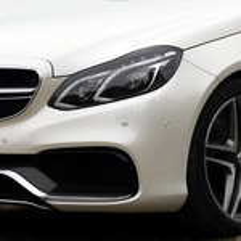 Адаптация ксеноновых фар Mercedes E-Class (W212) после ДТП фото