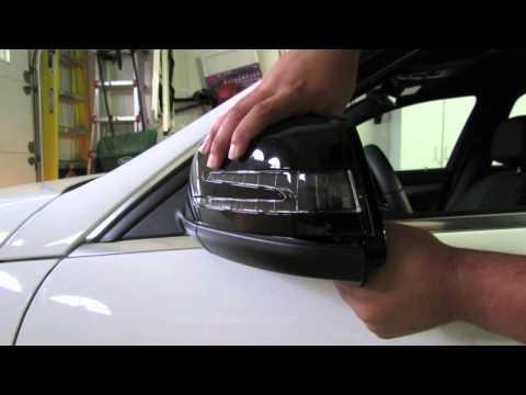 Как настроить автоматическое складывание боковых зеркал на Mercedes E-Class (W212)