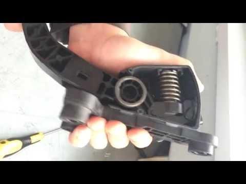 Педаль газа в KIA Rio III: электронная или механическая