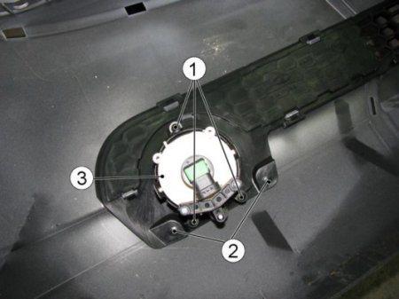 Как снять передний бампер Chevrolet Niva