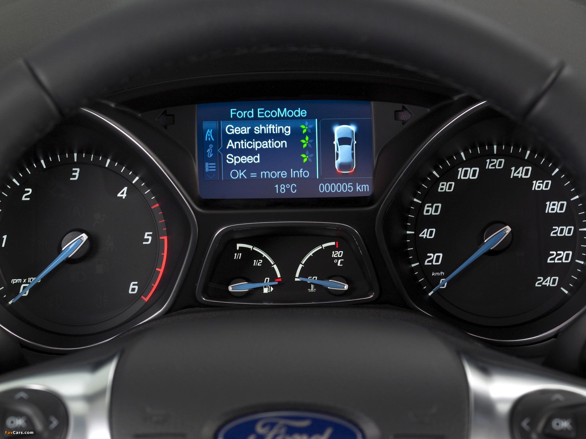 Тестовый режим бортового компьютера Ford Focus 3