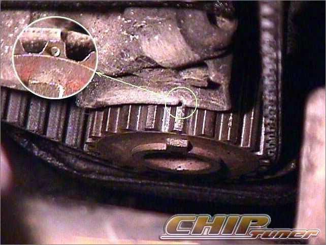 Как в ВАЗ-2110 самостоятельно снять нижнее зубчатое колесо с носка коленвала