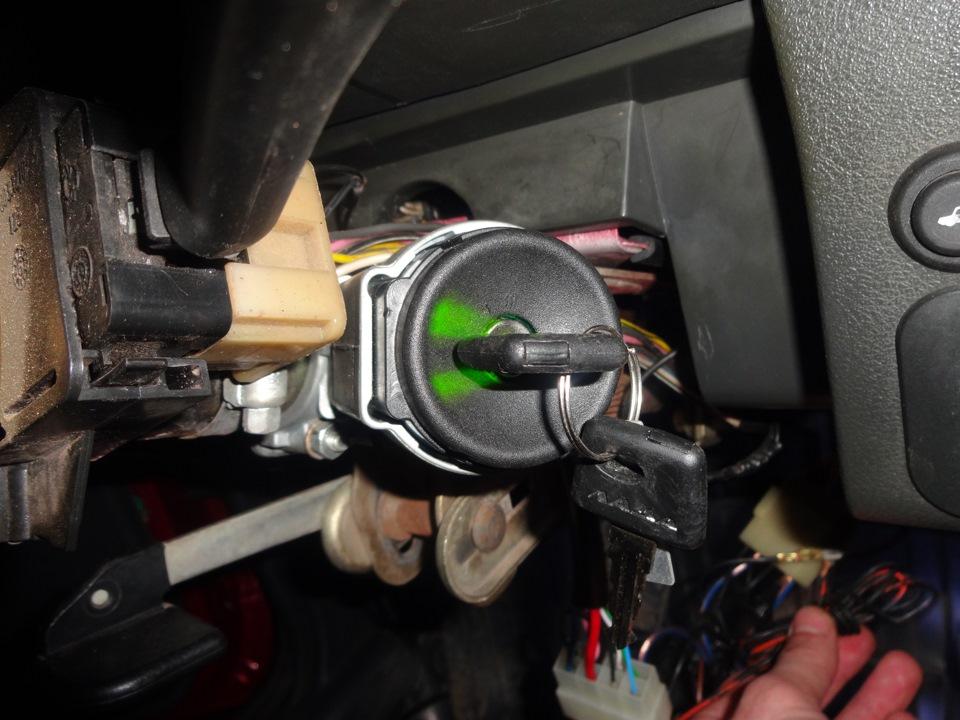 Как проверить исправность замка зажигания ВАЗ-2110