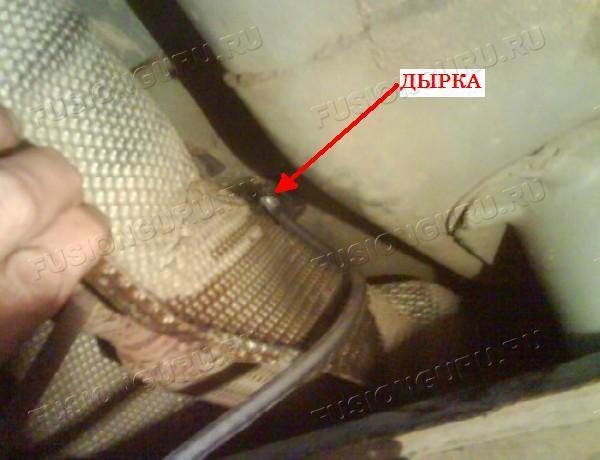 Дренажные отверстия в кузове Ford Focus 2