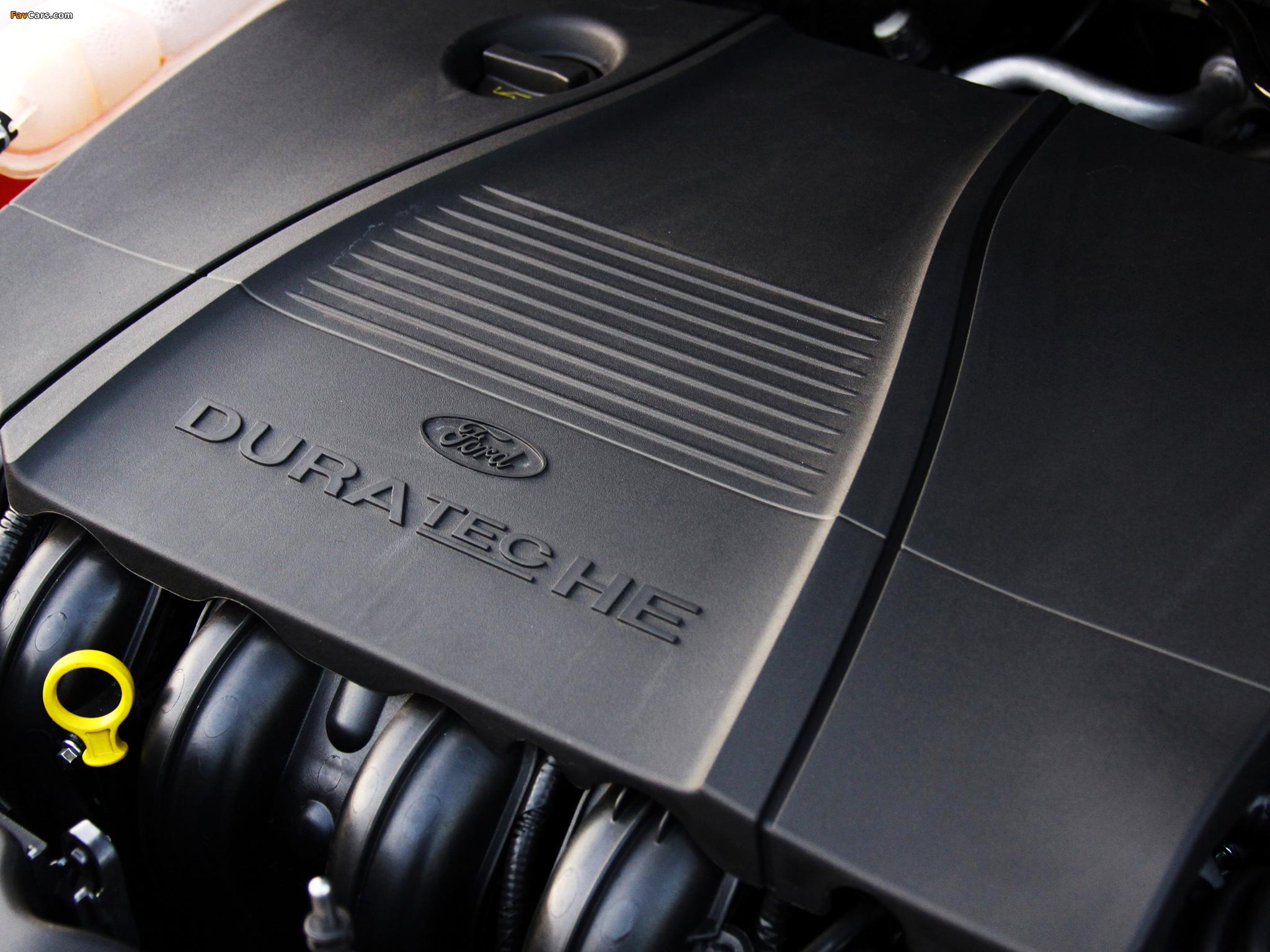 Пластиковая крышка на двигатели 1.4 и 1.6 Ford Focus 2