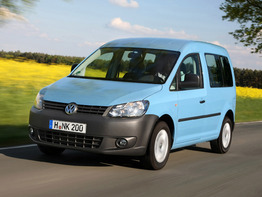 Volkswagen Caddy III поколение рестайлинг 2010-2015 минивен 4