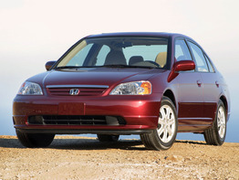 Honda Civic VII поколение 2000-2003 седан 4