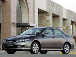 Honda Accord VII поколение рестайлинг 2005-2007 седан 4