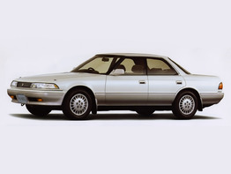 Toyota Mark II VI поколение 1988-1992 седан 4