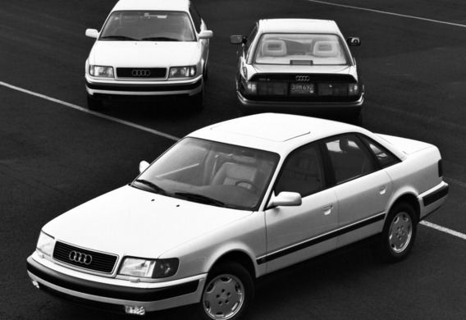 Различия между Audi 100 C4 и А6 первого поколения