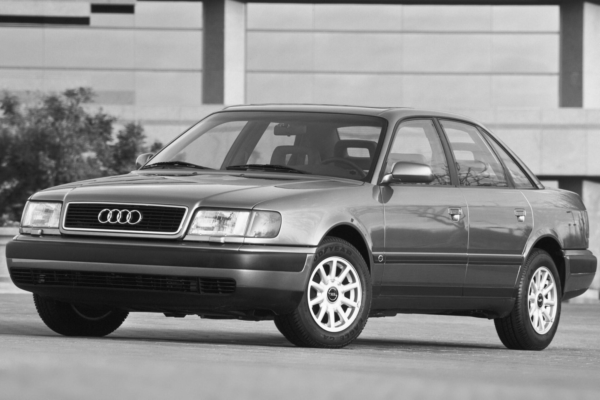 Ремонт обогрева зеркала на Audi 100 C4