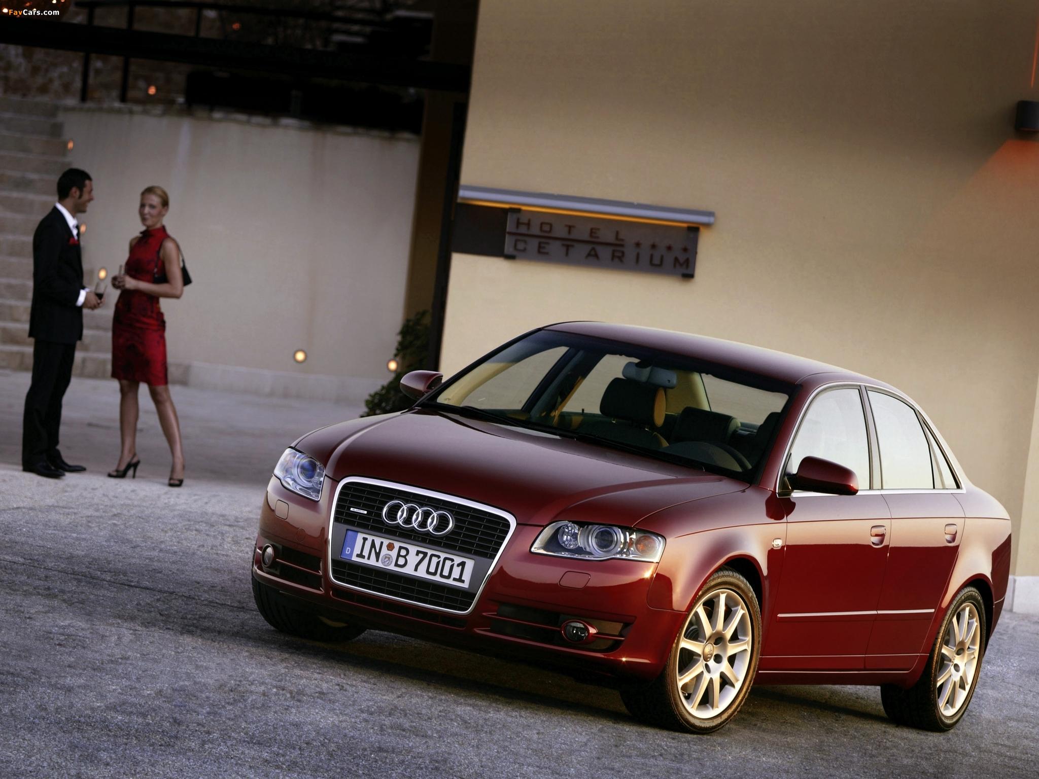 Проблемы с ходовой Audi А4 В7